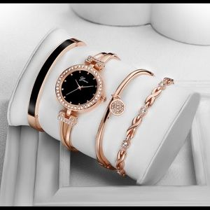 4pcs luxury watch